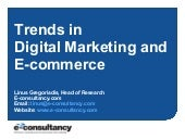 Trends in Digital Marketing and e-C...
