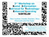 3rd Workshop onSocial  Information...