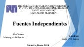 fuentes independientes