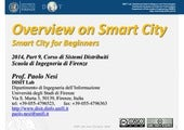 Overview on Smart City: Smart City for Beginners