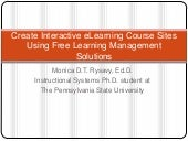 Create interactive eLearning course...