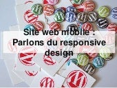 Web Mobile et Responsive Design