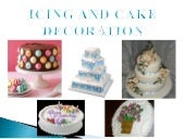 Six basic kinds of icing
