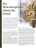 Six Misconceptions About the Cloud