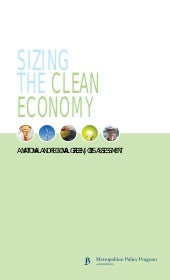 Sizing the clean economy