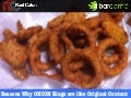 BarcampSJ #2 - Reasons Why ONION Rings are like Original Content