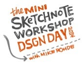 Sketchnote Mini-Workshop: DSGNDAY 2014