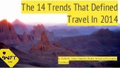 14 Trends That Defined Travel in 2014