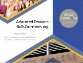 Advanced Features of SkillsCommons.org