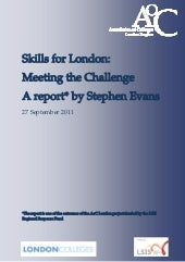 Skills for London: Meeting the Chal...