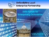 "Skills Needs for ""Enterprising Oxfo..."