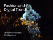 Fashion and Digital Trends