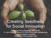 Creating Seedbeds for Social Innova...