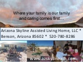 Cochise County's Assisted Living Home in Benson