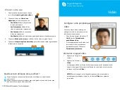 Skype for business quick start guide video