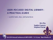 User Focused Digital Library: A Pra...