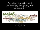SLAV social networks to build knowl...