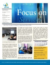 SLCSI Enewsletter Focus on Services...