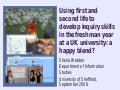 Using first and second life to develop inquiry skills in the freshman year at a UK university: a happy blend?