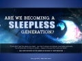 Are We Becoming A Sleepless Generation? - Facts & Infographic on Insomnia