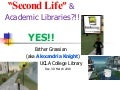 Second Life for Texas Library Association Conference 4 14 10