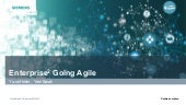 Enterprise^2 going agile - Siemens Manufacturing Software Case Study - Yael Barak & Yuval Heller