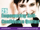 25 Empowering Self-Confidence Quotes