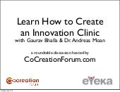 Learn how to Create an Innovation C...