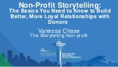 Non-Profit Storytelling & Donor Relations