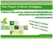 Final Project Artificial Intelligence