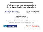 Call-by-value non-determinism in a ...