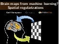 Brain maps from machine learning? Spatial regularizations