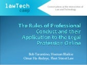 LawTechCamp - Rules of Professional...