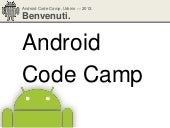 Android Code Camp 2012 - eng
