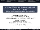 A survey of formal approaches for s...