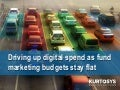 Driving up digital spend as fund marketing budgets stay flat