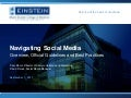 Albert Einstein College of Medicine: Navigating Social Media