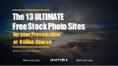 The 13 Ultimate Free Stock Photo Websites