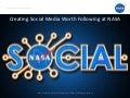 Creating Social Media Worth Following at NASA