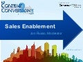 Sales Enablement Conference