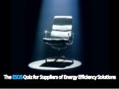The ESOS Quiz for Energy Efficiency Suppliers