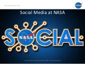 Social Media at NASA, 2012 Edition
