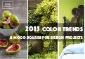 2015 Color Trends & Mood Boards For Design Projects