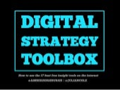 Digital Strategy Toolbox