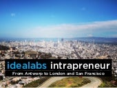 idealabs intrapreneur: going from A...