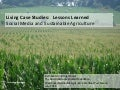 Living Case Studies:  Social Media and Sustainable Agriculture