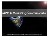 MVO en Marketingcommunicatie