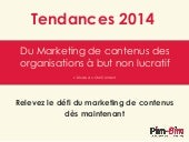 Tendances 2014 du Marketing de cont...