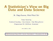A Statistician's View on Big Data and Data Science (Version 1)