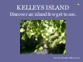 Kelleys Island in the winter & in the 1800's